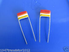 Mullard Tropical Fish Capacitors RADIAL .022uF, 10%, 400V, (2pcs) New Old Stock