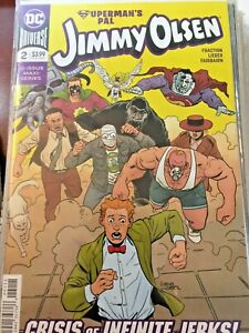 "Superman's Pal -Jimmy Olsen #2  ""Crisis Of Infinite Jerks""  DC Comics **"
