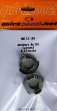 Quickboost 1/48 Junkers Ju188 Exhaust for Dragon kits # 48176