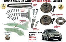 für Peugeot 2008 1.6 120bhp 1598cc EP6C 2013> STEUERKETTENSATZ + VVT Nabe