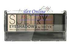 TECHNIC SULTRY EYESHADOW PALETTE - TAWNY - 6 COLOURS CREAMS, BROWNS, BRONZES..
