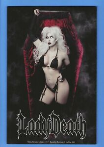 "LADY DEATH TREACHEROUS INFAMY #1 NM 2020 COSPLAY VARIANT / ""IRELAND REID"""