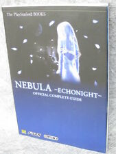 ECHO NIGHT BEYOND NEBULA Complete Guide Book PS2 SB52*