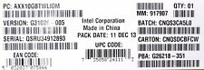 Intel AXX10GBTWLIOM Dual Port Intel X540-BT2 10GbE I/O Module NEW BULK PACK