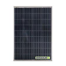 Pannello Solare Fotovoltaico 100W 12V 4 BUS BAR Carica Batteria Auto Camper Naut