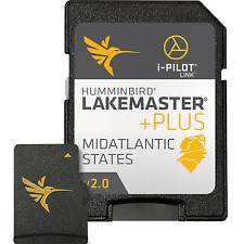 Humminbird Lakemaster+ Maps, Mid Atlantic, V2