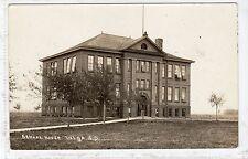 SCHOOL HOUSE, VOLGA: South Dakota USA postcard (C17033)