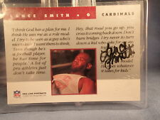 Lance Smith-1992 PRO LINE CERTIFIED AUTOGRAPH-Arizona Cardinals-LSU