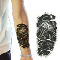 Temporary Large Tattoo Arm Body Art Removable Waterproof Fake Tattoo Sticker A+