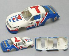 1986 Tyco Ford Thunderbird 7-Eleven Stock Slot Car Wide Body Only No Window 8904
