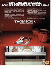 Publicité Advertising 068  1979   lave vaisselle Thomson encastrable