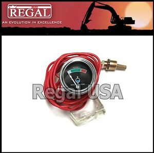 1W0697 Water Temp Gauge (100-250) for Caterpillar (2005235, 4K2400, 7M7865)