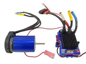 Traxxas Velineon 1/10 VXL-3s Brushless ESC w/ Telemetry Plug & 3500kv Motor Comb