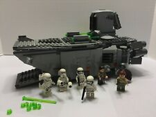 Lego STAR WARS FIRST ORDER TRANSPORTER (75103) 100% Complete with manual