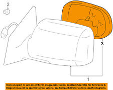 TOYOTA OEM 00-05 Echo Door Rear Side View-Mirror Glass Right 879311A840