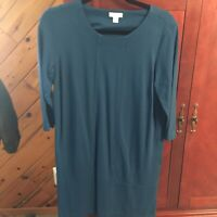 Nwot J.jill Ponte PM Blue  Dress Darling