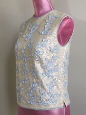 Vintage Stephen Chu Beaded Sequin Sweater