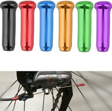 10X Aluminium alloy MTB Bicycle Brake Shifter Cable Housing End Crimps Caps
