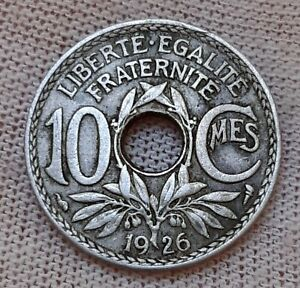 France 10 centimes 1926