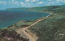 CANADA,NOVA SCOTIA, CABOT TRAIL BRETON ISLAND,  USED,  1958