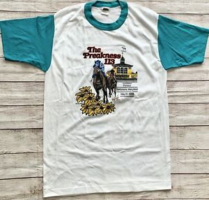 1988 Vintage The Preakness 113 Pimlico t-Shirt