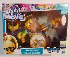 My Little Pony Movie PIRATE APPLEJACK Guardians of Harmony NEW figure wings hat