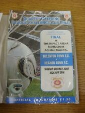06/05/2007 Central Midlands League Cup Final: Ollerton Town v Heanor Town [At Al