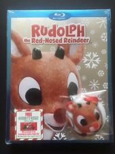 RUDOLPH THE RED-NOSED REINDEER [Blu-ray, 2013] NEW! - WALMART EXCL.w/ ORNAMENT
