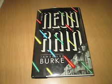 James Lee Burke NEON RAIN First Edition in jacket