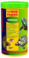 NOURRITURE POUR REPTILES SERA REPTIL HERBIVOR 350 G 1 LITRE ref 1812