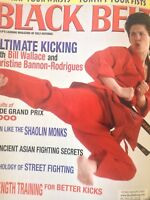 Black Belt Magazine Bill Wallace Christine Bannon August 2000 012619nonrh