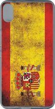 funda carcasa gel soft case Sony Xperia XZ,bandera espana spain