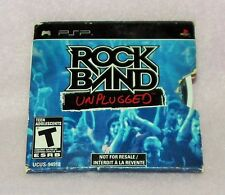 Sony PSP GAME-Rock Band Unplugged (PROMO DISCO) * PREZZO RIDOTTO *