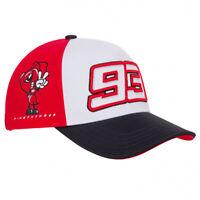 2020 Marc Marquez #93 MotoGP Kids Baseball Cap Red White Official Merchandise