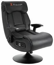 X-Rocker Elite Pro Audio 2.1 en cuir synthétique, PS4, Xbox One Gaming Chair-N08