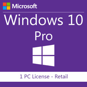Windows 10 Pro Professional Genuine License Key Fast delivery Instant Activation