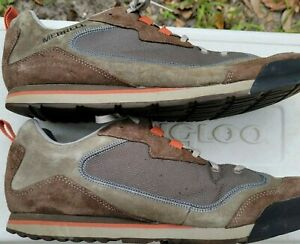 Merrell Burnt Rock Travel Suede Hiking Shoe Sneaker Men Sz 13 Dusty Olive J95233