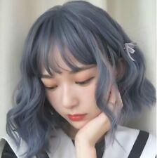 Japanese Lolita Cute Ombre Long Short Bob Curly Wavy Bangs Party Cosplay Wig