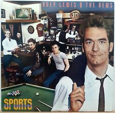 HUEY LEWIS AND THE NEWS ~ SPORTS LP CHRYSALIS (FV 41412) ORIGINAL 1983 NM!