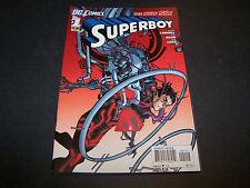 NEW 52 SUPERBOY #1 2ND PRINT DC COMICS SCOTT LOBDELL RB SILVA ROB LEAN SUPERMAN