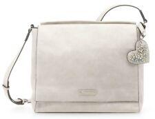 Tamaris Milla Crossbody Bag L Umhängetasche Tasche Light Grey Beige Neu
