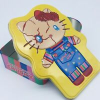 HELLO KITTY x CHUCKY Tin Box CHILD'S PLAY Sanrio 2015 UNIVERSAL STUDIOS JAPAN