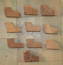 10 PRIMA BRIAR PIPE EBAUCHONS BLOCKS PIPES PIPA PFEIFEN MADE ITALY MEDIUM SIZE