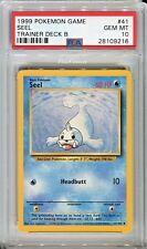 PSA 10 GEM MINT Pokemon SEEL Uncommon Misty's Trainer Deck B #41 Base Set