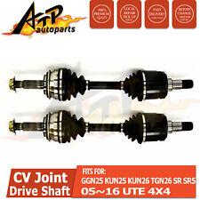 2 CV Joint Drive Shaft for Toyota Hilux KUN26R / SR5 4WD 05-16 (Standard Height)