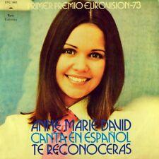 "7"" ANNE-MARIE DAVID Canta Español Te Reconoceras EPIC ESC Grand Prix Spain 1973"
