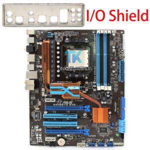 for ASUS M4N98TD EVO Motherboard Socket AM3 DDR3 W/ I/O Shield Tested