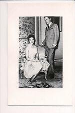 Photo Card Infante Carlos, Duke of Calabria, Princess Anne of Orléans