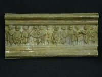 "ANTIQUE ROMAN ARCHITECTURAL FRIEZE FRAGMENT ~ 19"" (15 Lbs)"