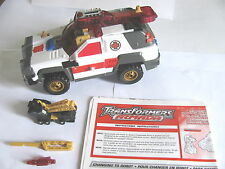 TRANSFORMERS ARMADA 2002 RED ALERT*LONGARM MINICON*99% COMPLETE*INSTRUCTIONS
